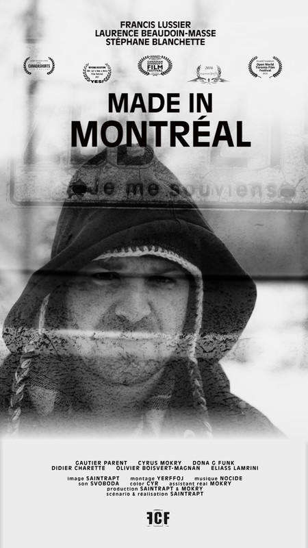 Get to know the short film: MADE IN MONTREAL, 10min, Canada, Drama, B&W