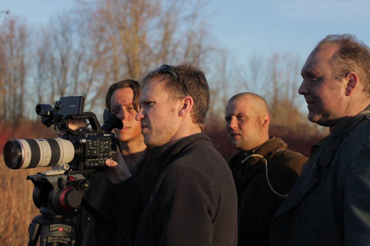 Derek Barnes – Director of the short film WALKING SUPPLY